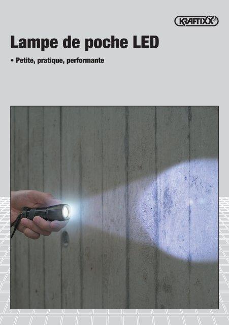 KRAFTIXX Lampe de poche LED - kwb