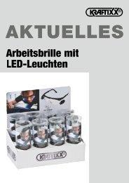 KRAFTIXX Arbeitsbrille mit LED-Leuchten - kwb