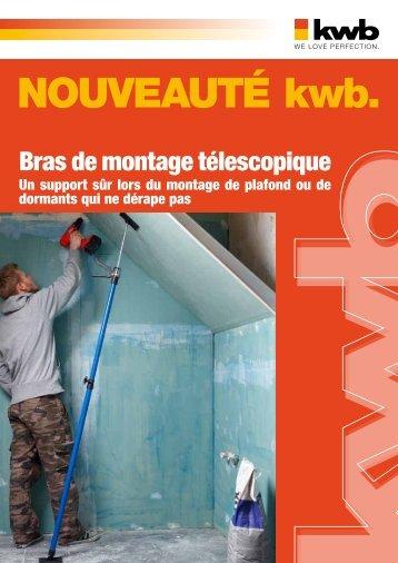 kwb Bras de montage télescopique