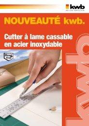 kwb Cutter à lame cassable