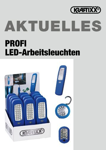 KRAFTIXX PROFI LED-Arbeitsleuchten - kwb