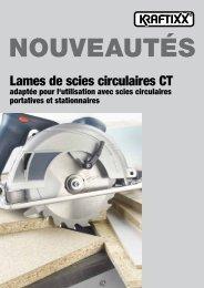 Lames de scies circulaires CT - kwb
