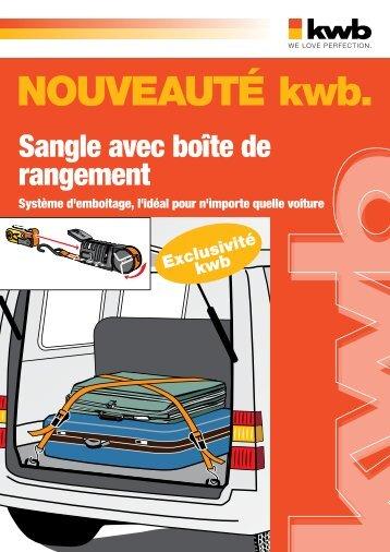 kwb Sangle avec boîte de rangement