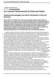 Do it yourself: Rundumschutz für Arbeit und Freizeit - kwb