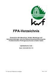 02 FPA-Verzeichnis