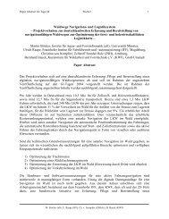 Pressemitteilung GI-Tage - Kwf