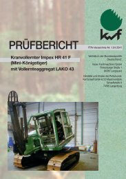 Kranvollernter Impex HR 41 F