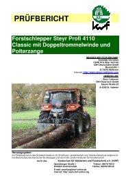Steyr Profi 4110 - Kwf