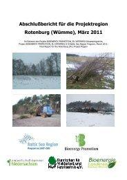 Abschlußbericht für die Projektregion Rotenburg (Wümme ... - Kwf