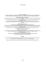 Erhebungsbogen Seite 1 Hinweise zum Fragebogen In der ... - Kwf