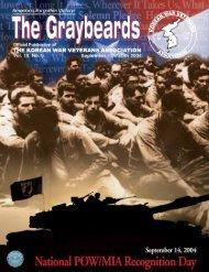 Sep/Oct 2004 Graybeards - KWVA - Korean War Veterans Association