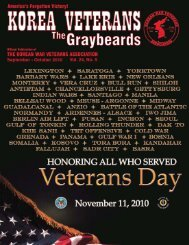 Graybeards - Korean War Veterans Association