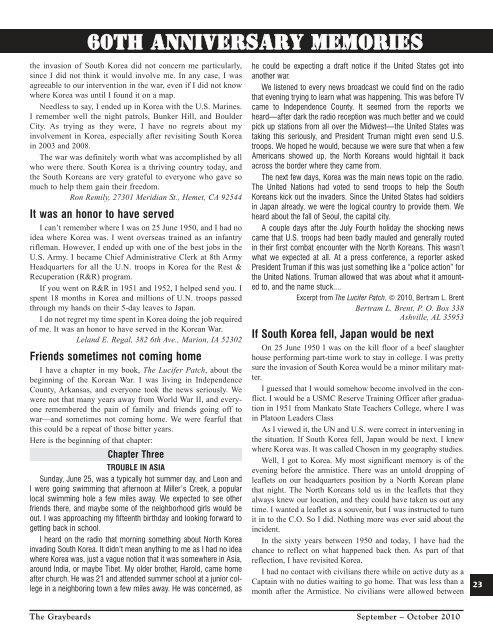 Graybeards - Korean War Veterans Association