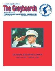 GENERAL RAYMOND G. DAVIS - Korean War Veterans Association