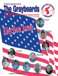 The Graybeards - Korean War Veterans Association