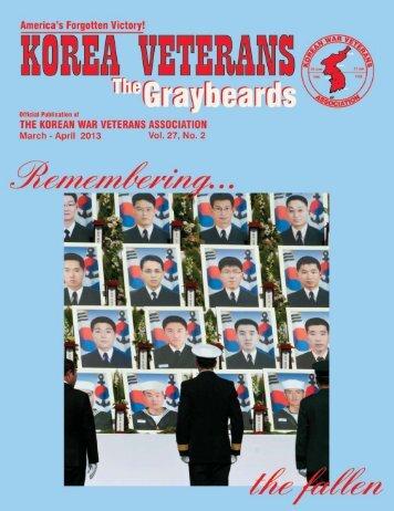 Mar/Apr 2013 - Korean War Veterans Association