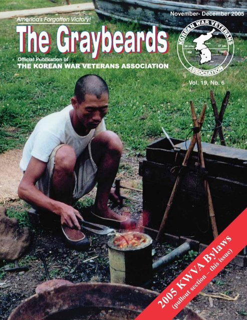 The Graybeards Nov/Dec 2005 - Korean War Veterans Association