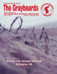 The Graybeards - KWVA - Korean War Veterans Association