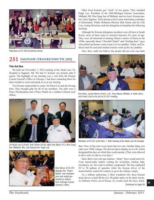 Jan/Feb 2013 - Korean War Veterans Association
