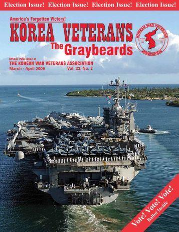 Vote! Vote! Vote! - Korean War Veterans Association