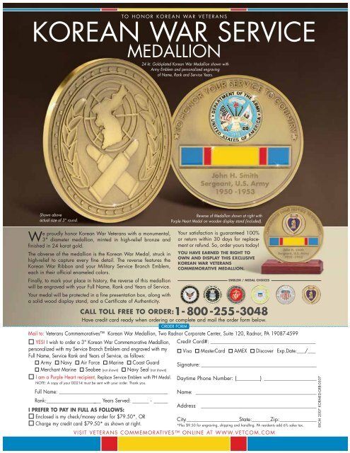 Freedom Is Not Free - Korean War Veterans Association