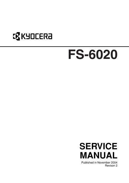 FS-6020 Service Manual - kyocera