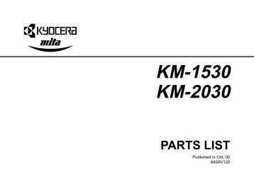 KM-3050 KM-4050 KM-5050