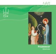 Pfarrbrief St. Laurentius Warendorf Advent 2012