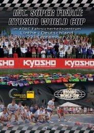 Ausschreibung (PDF, 1216 KB) - Kyosho