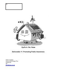 Kyotto in the Home Deliverable 11: Promoting Public Awareness.