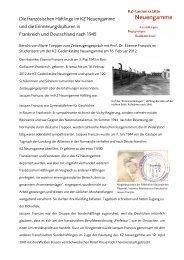 Bericht - KZ-Gedenkstätte Neuengamme