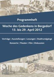 Woche des Gedenkens - LINKE aus Bergedorf