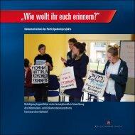 """""""Wie wollt ihr euch erinnern?"""" - KZ-Gedenkstätte Neuengamme"""