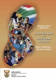 Information Guide - Department of Basic Education