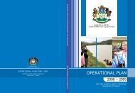 OPERATIONAL PLAN - KwaZulu-Natal Department of Education