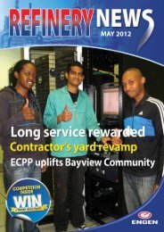 REFINERY NEWS May 2012