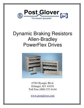 Dynamic Braking Resistors Allen-Bradley PowerFlex Drives