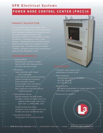 PNCC - L-3 Marine & Power Systems