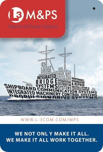 M&PS - L-3 Marine & Power Systems
