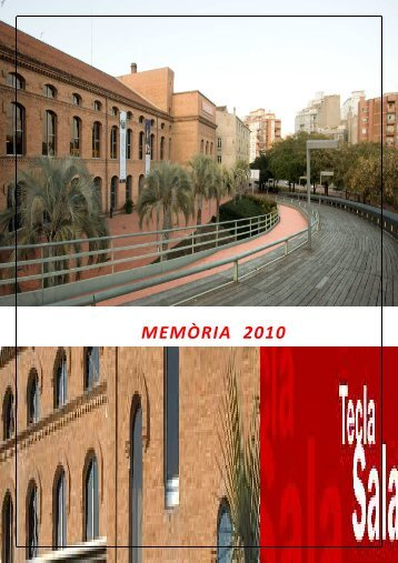 MEMÒRIA 2010 - Ajuntament de L´Hospitalet