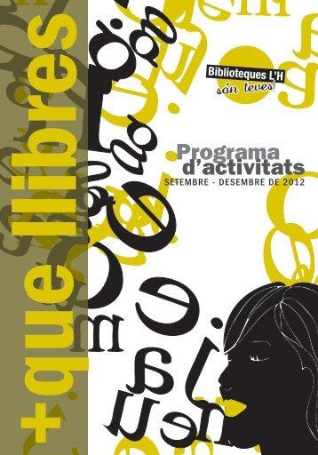 Programa d'activitats - Ajuntament de L´Hospitalet