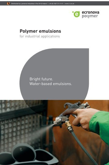Ecrylic - For Industrial Applications