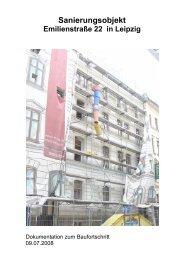 Dokumentation zum Baustand vom 09.07.2008 (PDF ~ 2 MB)
