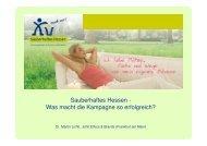 Vortrag_Dr. Lichtl, Sauberhaftes Hessen - L·Q·M Marktforschung