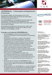 GEWERBEMonitor - L·Q·M Marktforschung