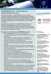 GEWERBEMonitor 2011 - L·Q·M Marktforschung