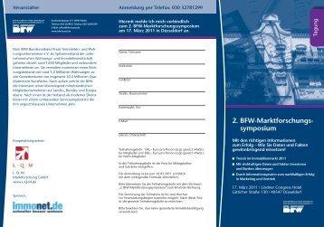 2. BFW-Marktforschungs- symposium - BFW Bundesverband Freier ...