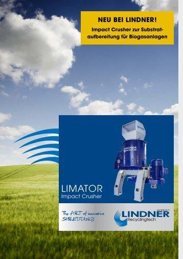 LIMATOR - Lindner-Recyclingtech GmbH