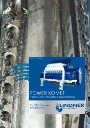 POWER KOMET - Lindner-Recyclingtech GmbH