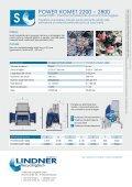 POWER KOMET - Lindner-Recyclingtech GmbH - Page 6